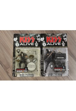 TWO McFarlane Toys Super Stage Figures Kiss Alive