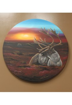 "Jeremy Kakepetum ""untitled"" elk"