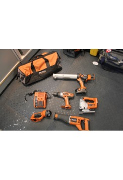Ridgid Tool Reno Set with charger